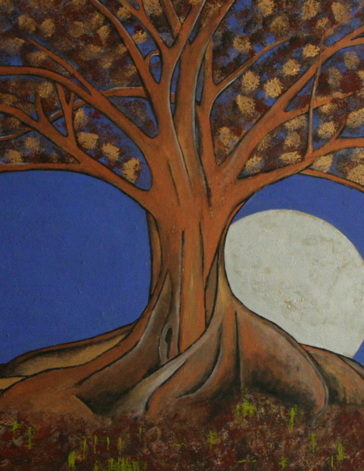 Art - Painting - Enchanted Tree