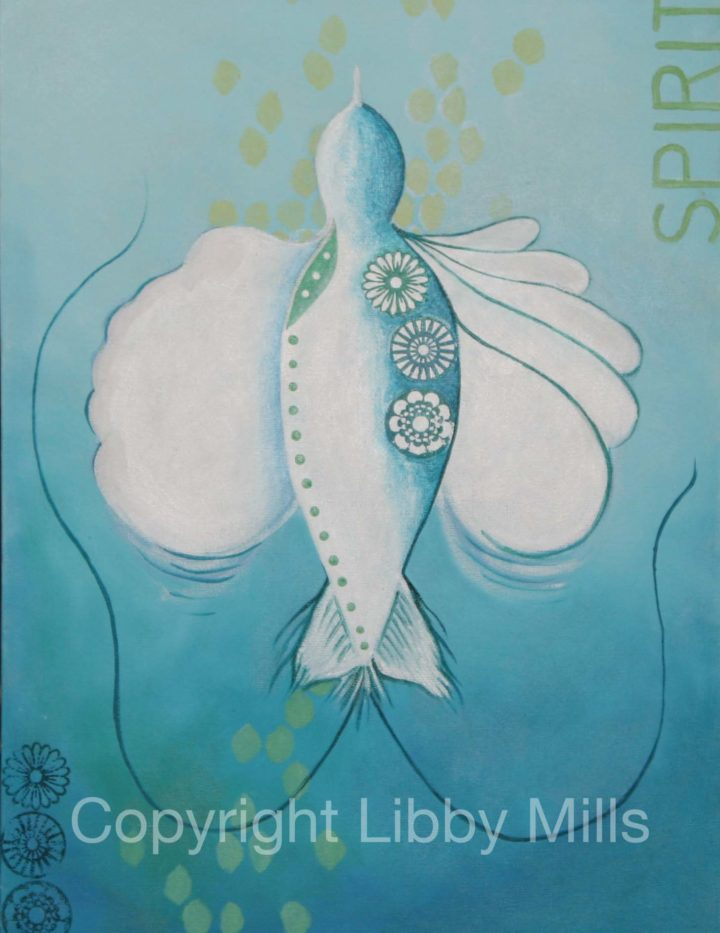 Spirit - Original Artwork by Australian Artist Libby Mills