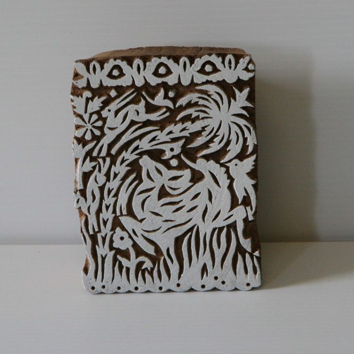 Deer Stamp - Elk Wood Block