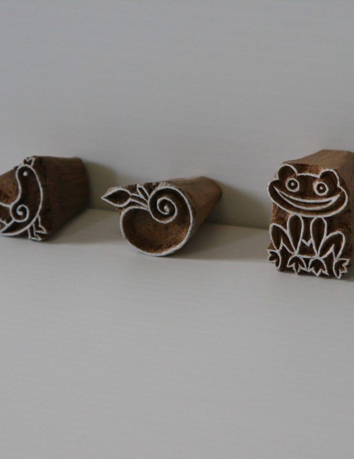Small Fun Stamp Set - Wood Blocks