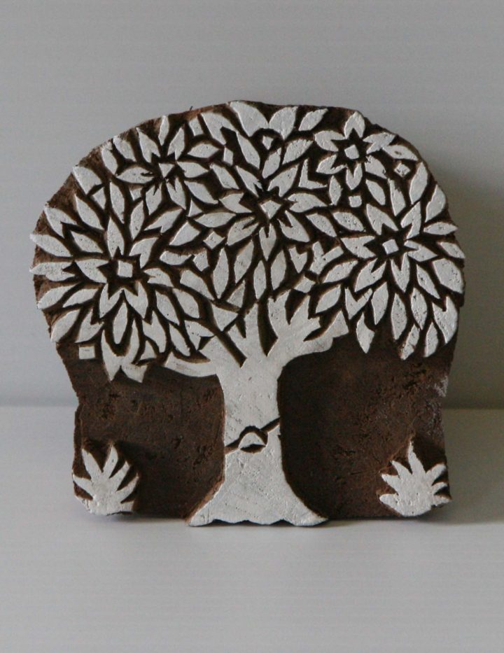 Tree Stamp - Wood Block