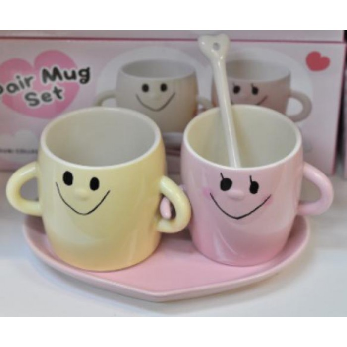 Love Mugs Set