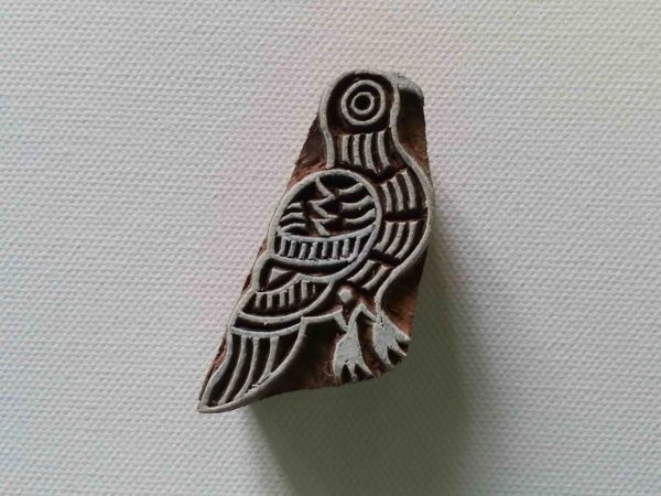 Wood Bird Stamp