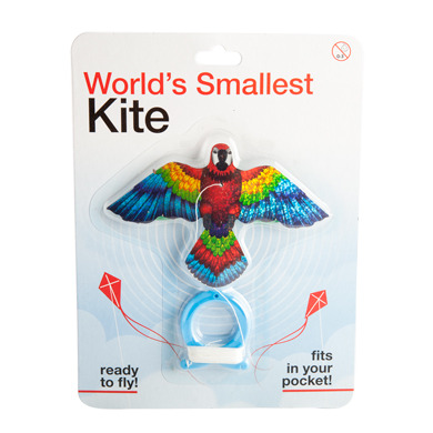 Parrot Kite – Worlds Smallest Kite