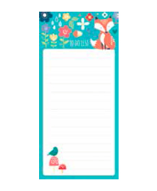 Fox Magnetic List Pad