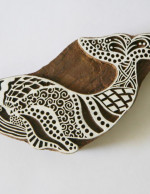 Whale Stamp - Indian Hand Carved Wood Block