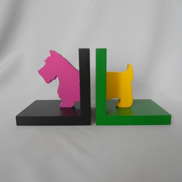 scotty dog bookends