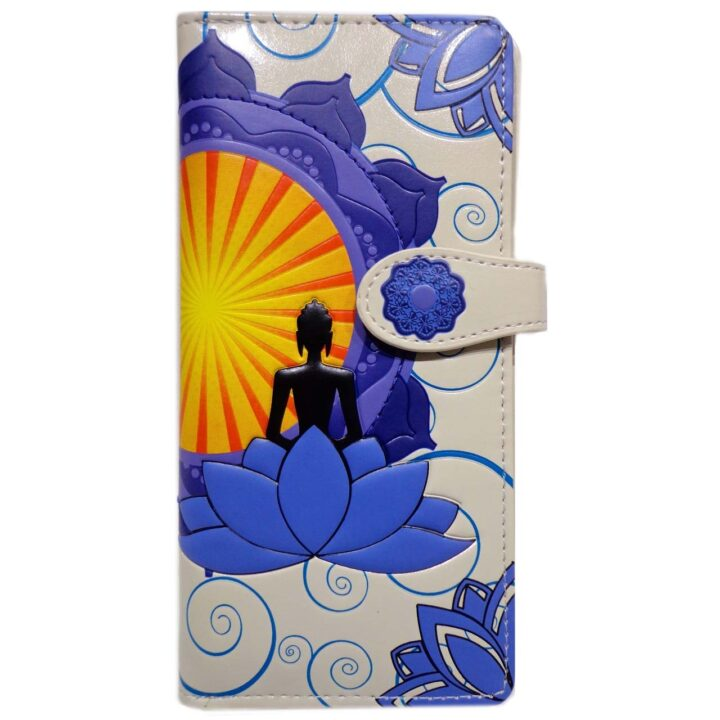Buddha Yoga Lotus Wallet Shagwear Purse