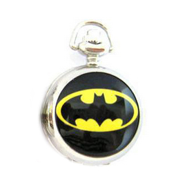 Batman Pcoket Watch Necklace