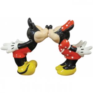 mickey & minnie salt & pepper shakers