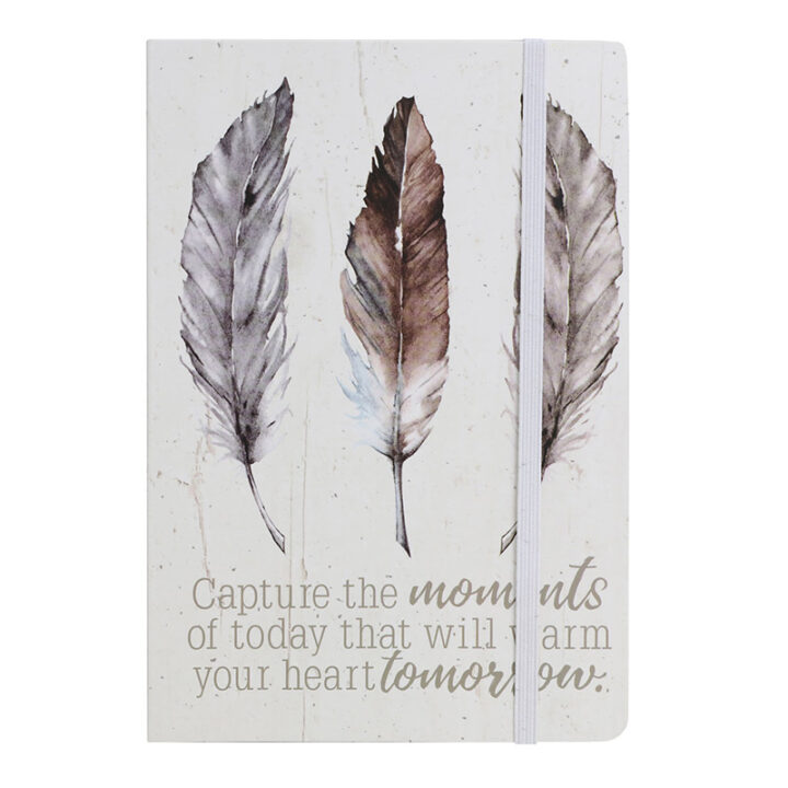 Feather Journal Notebook A5