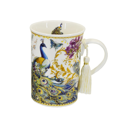 Peacock Mug