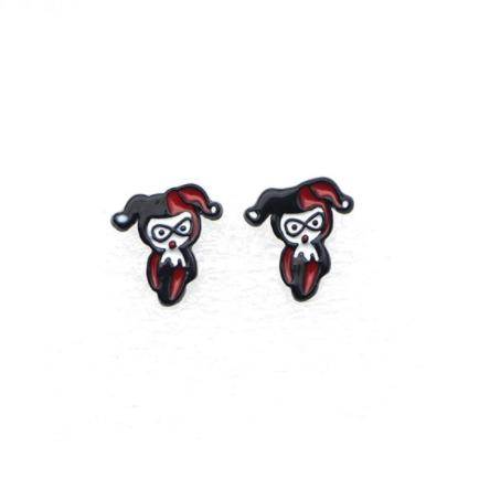 Harley Quinn Earrings - Superhero Earrings