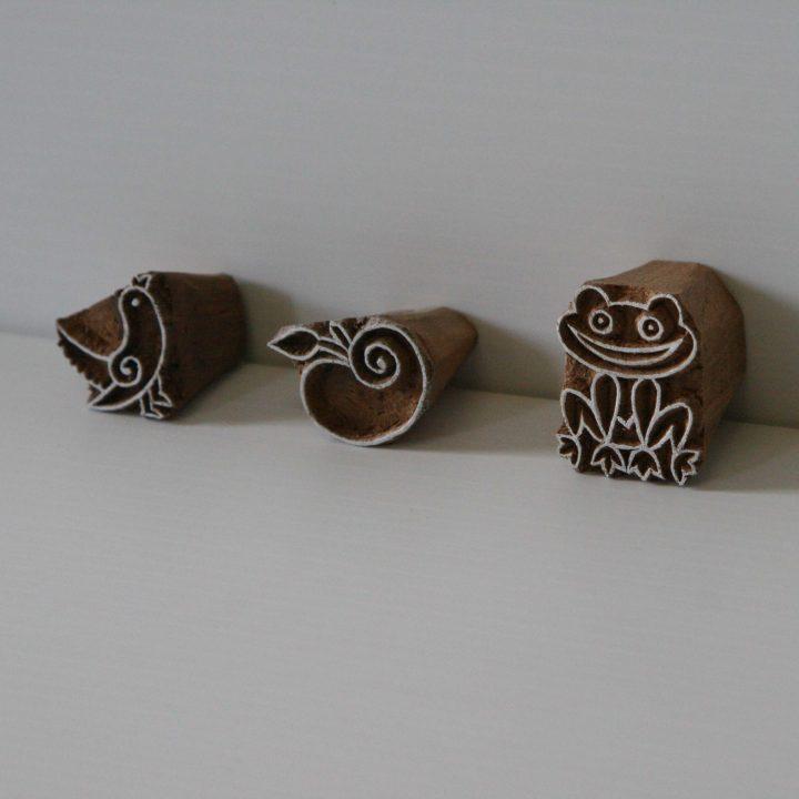 Small Fun Stamp Set - Wood Blocks