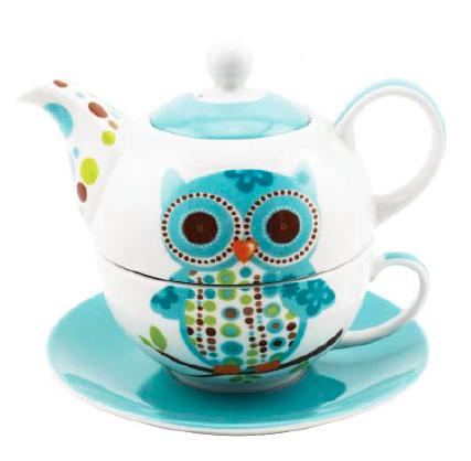 Owl Tea For One