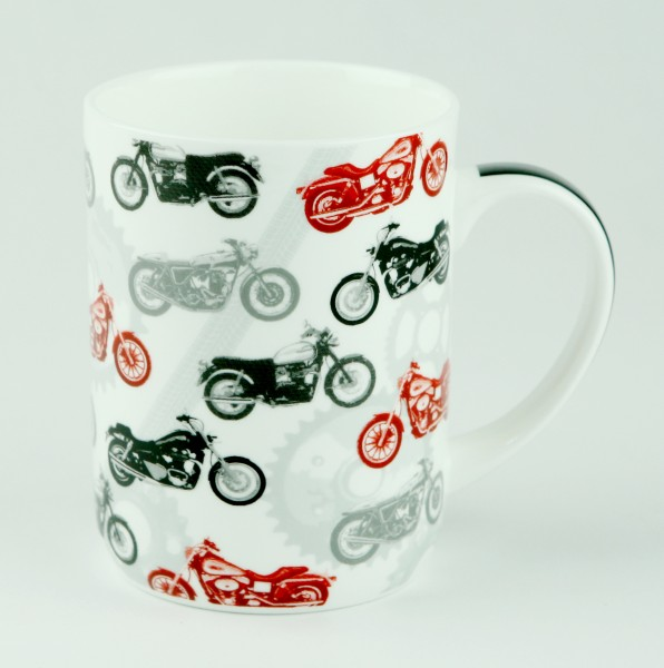 Motorbike Mug Ashdene Bone China