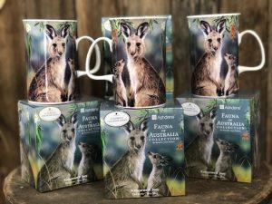 Kangaroo and Joey Mug Ashdene