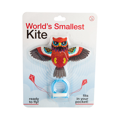 Owl Kite - Worlds Smallest Kite