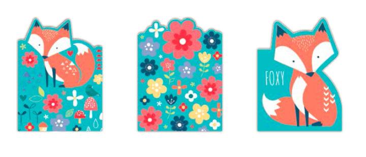 Fox Notepads - Set of 3