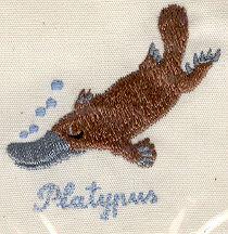 Platypus Hankerchief Australian Gift