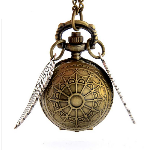 The Snitch Harry Potter Watch Necklace