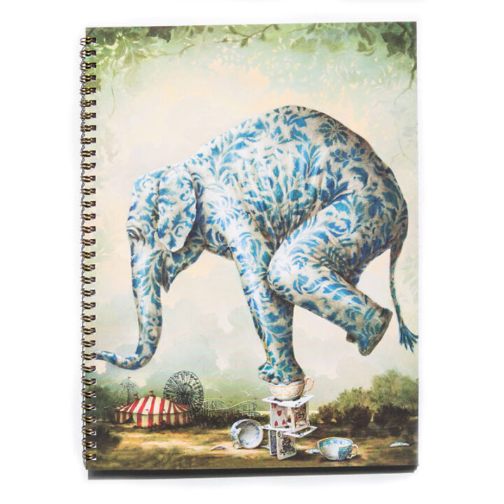 Elephant A4 Notebook Journal