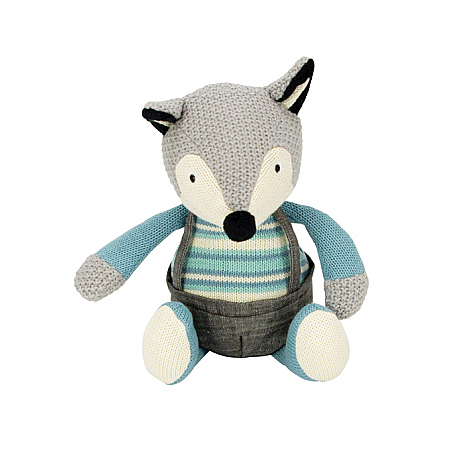Blue Fox Plush Toy