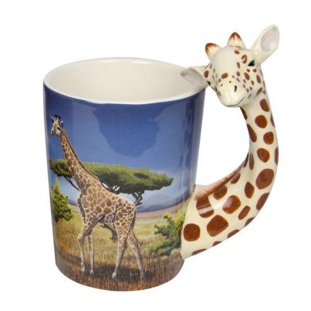 Giraffe Shape Mug