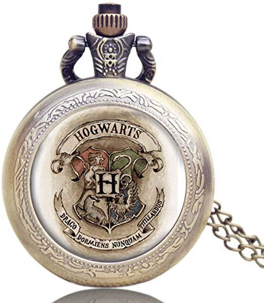 Harry Potter Hogwarts Pocket Watch