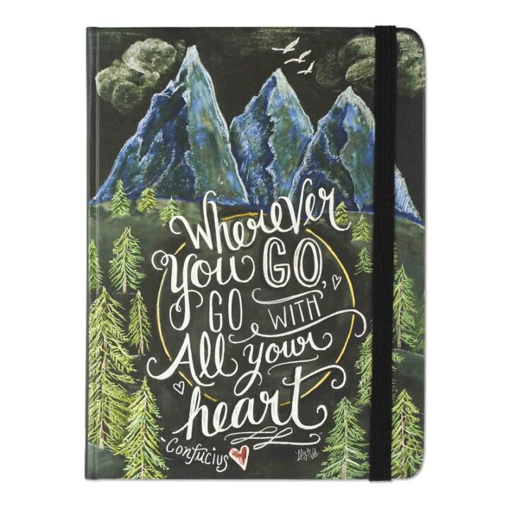 Wherever you go, go with all your heart Journal - A5 Size
