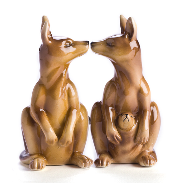 Kangaroo Salt & Pepper Shakers
