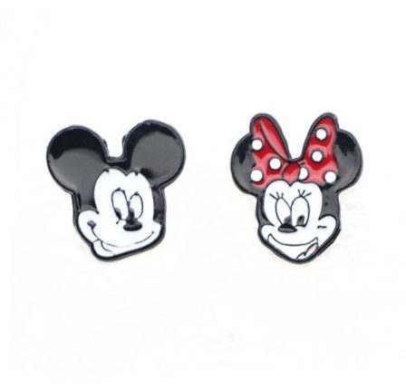Mickey & Minnie Superhero Earrings