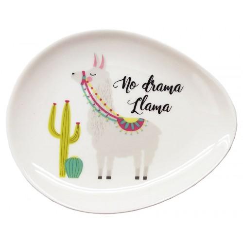 No Drama Llama Trinket Dish