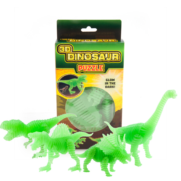 Glow In The Dark Dinosaur Puzzle
