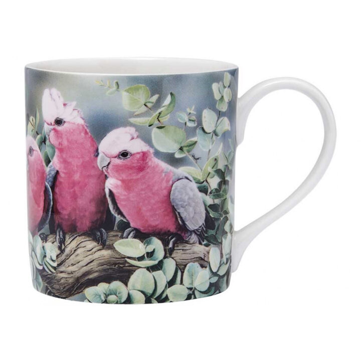 Kookaburra Mug Australian Bird & Flora Ashdene