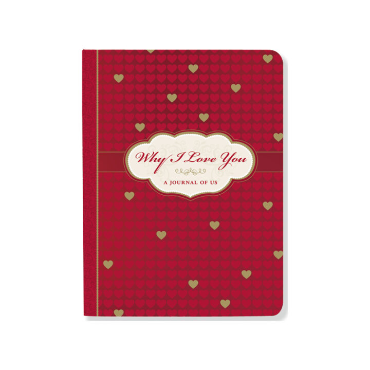Why I Love You Journal - Interactive Journal of Us