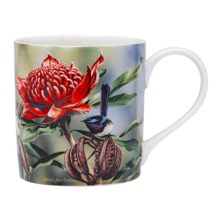 Wren Mug Australian Bird & Flora Ashdene Cup