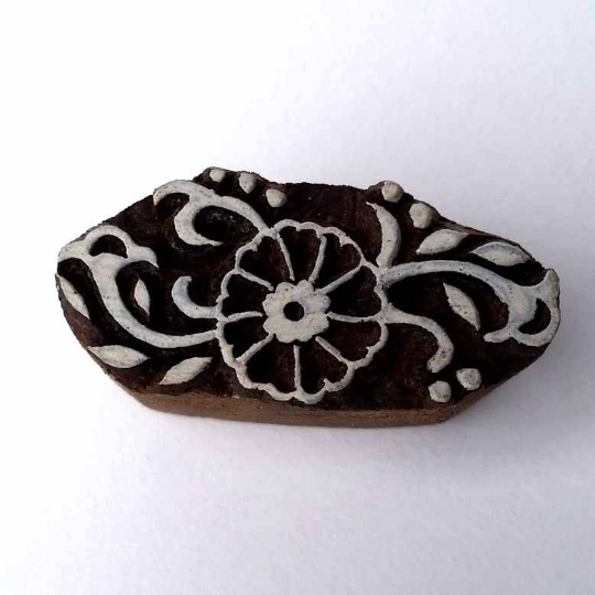 Flower Craft Stamp - Wood Block Printing