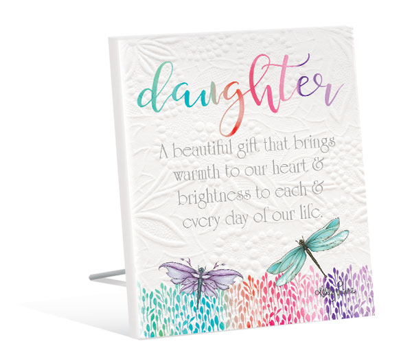 Daughter Quote Gift Dragonflies