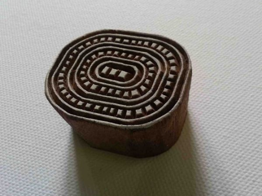 Pattern Stamp - Oval Dash