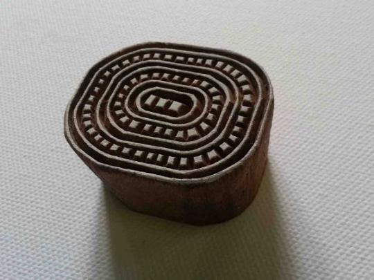 Pattern Stamp - Oval Dash