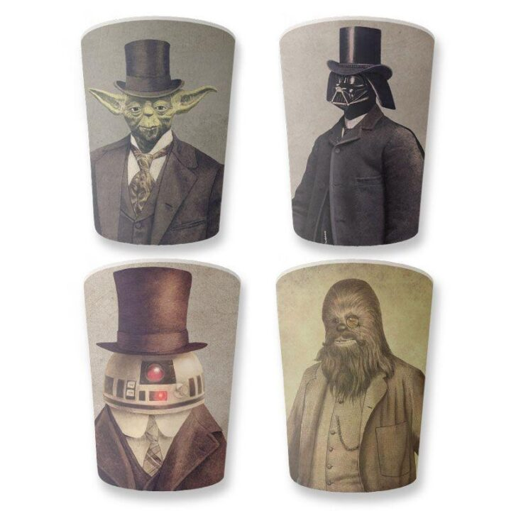 Star Wars Melamine Cups - Set of 4