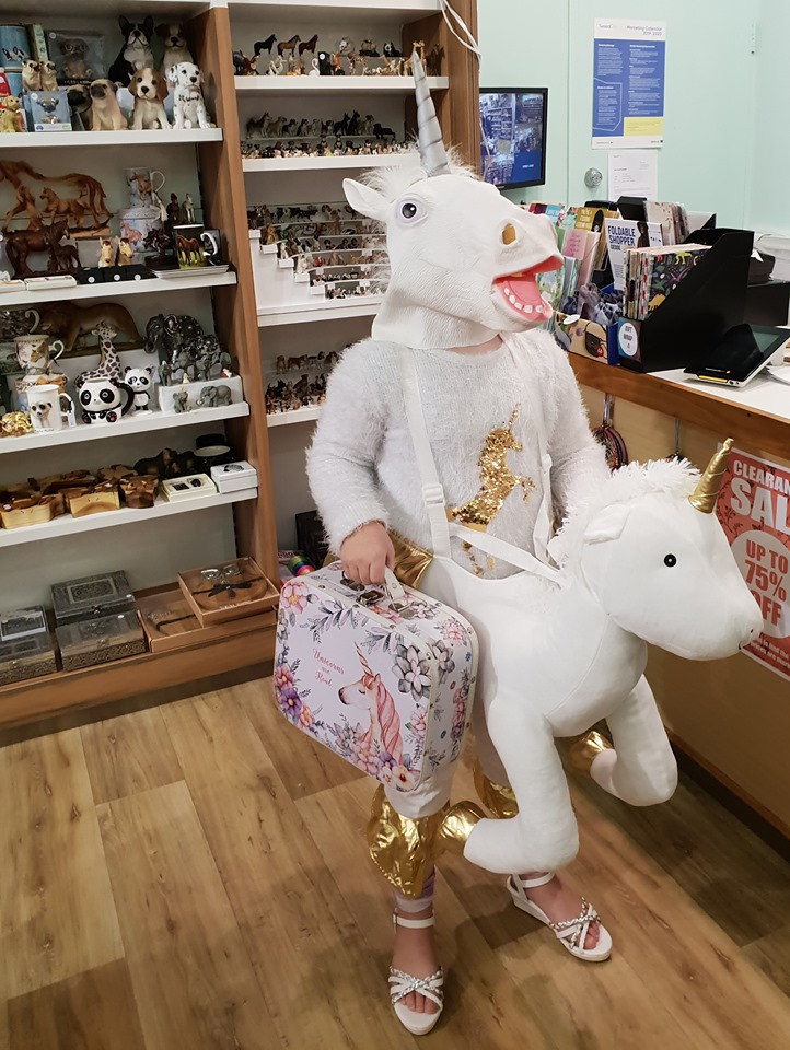 unicorn shop customer