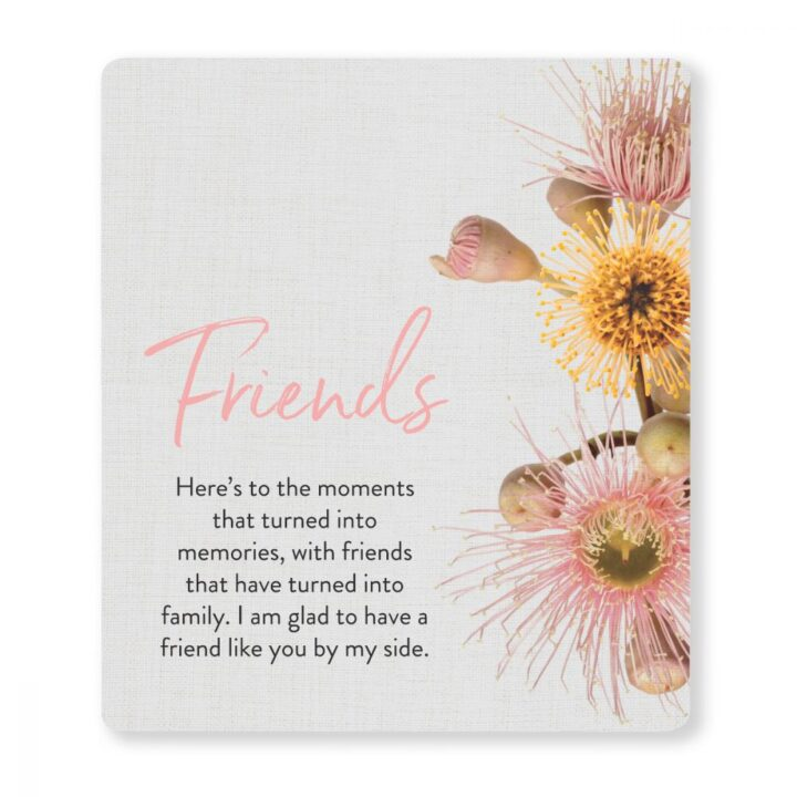 Friends Quote Gift