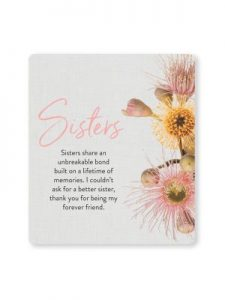 Sisters Quote Gift