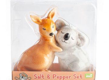 Koala and Kangaroo Salt and Pepper Shakers