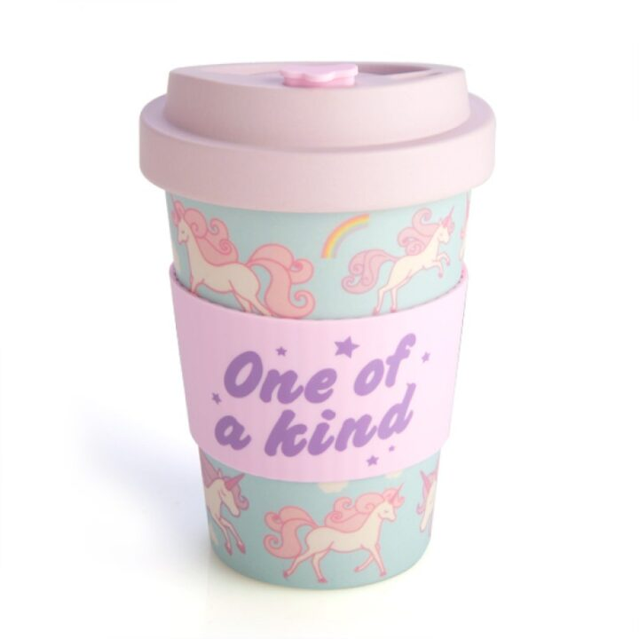 Unicorn Bamboo Keep Cup - Eco Travel Mug