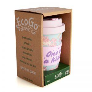 Unicorn Bamboo Keep Cup - Eco Travel Mug