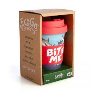 Shark Travel Mug - Bite Me - Eco Keep Cup