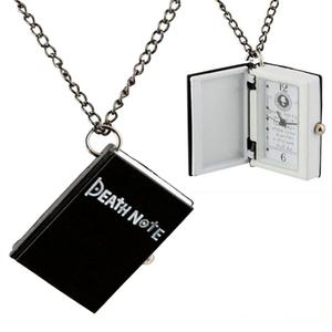 Death Note Pocket Watch Necklace